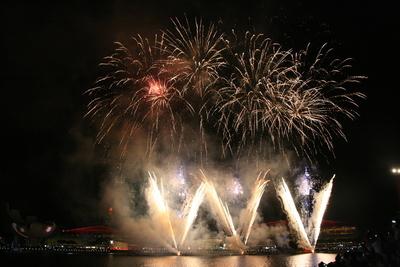 シンガポール建国50周年の週末
