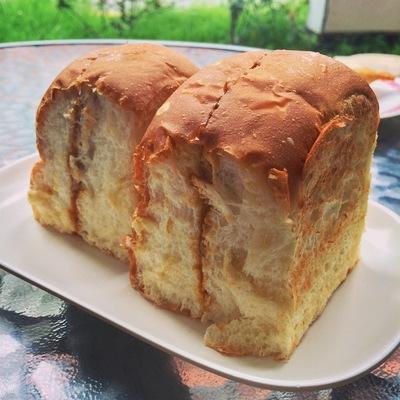 喜園珈琲店のふわふわカヤトースト