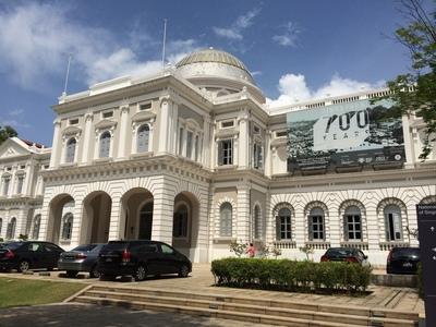シンガポール国立博物館でシンガポールの歴史を学ぶ